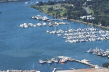 Mining Photo Stock Library - aerial photo of marina with lots of boats ( Weight: 2  New Image: NO)